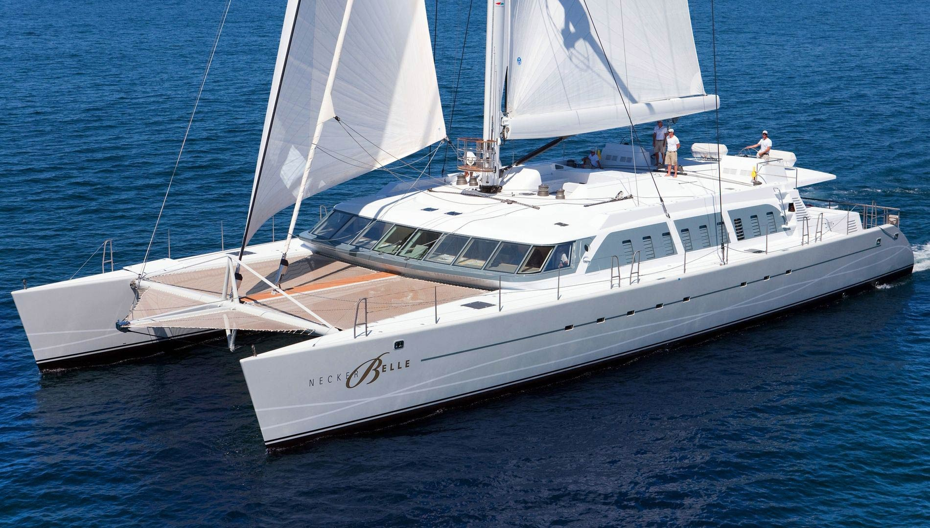 Luxury Catamaran Charter